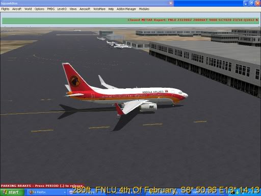 FNLU-FYWH-FNLU  missed approach @ FNLU for a safe landing. Ph-2009-aug-23-004