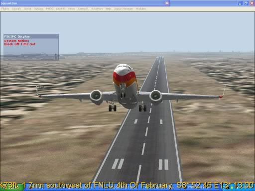 FNLU-FYWH-FNLU  missed approach @ FNLU for a safe landing. Ph-2009-aug-23-013