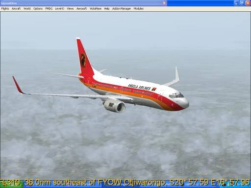 FNLU-FYWH-FNLU  missed approach @ FNLU for a safe landing. Ph-2009-aug-23-017