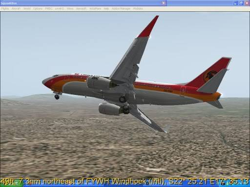 FNLU-FYWH-FNLU  missed approach @ FNLU for a safe landing. Ph-2009-aug-23-026