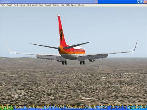 FNLU-FYWH-FNLU  missed approach @ FNLU for a safe landing. Ph-2009-aug-23-027