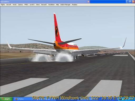 FNLU-FYWH-FNLU  missed approach @ FNLU for a safe landing. Ph-2009-aug-23-028