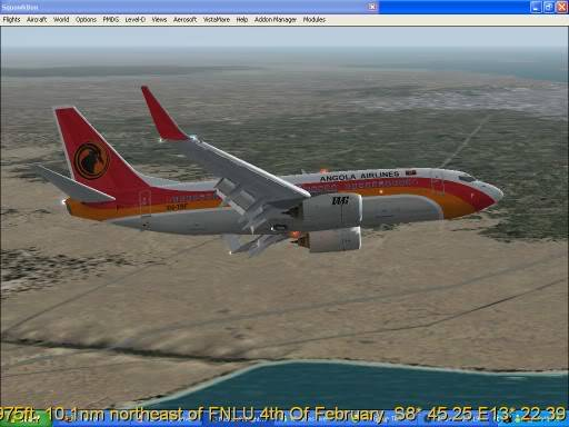 FNLU-FYWH-FNLU  missed approach @ FNLU for a safe landing. Ph-2009-aug-24-060