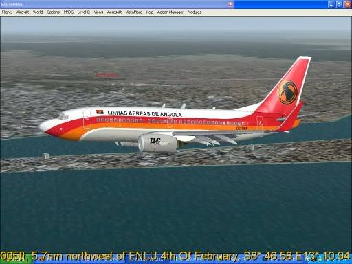 FNLU-FYWH-FNLU  missed approach @ FNLU for a safe landing. Ph-2009-aug-24-069
