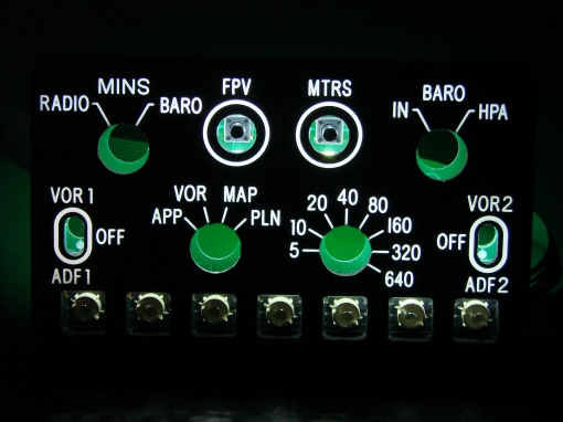 Peças para Cockpit Efis4