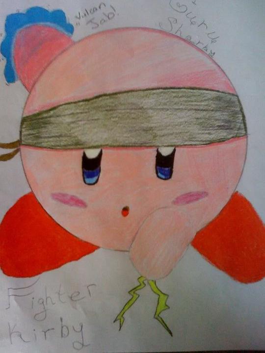 Kirby Fan Art Photo
