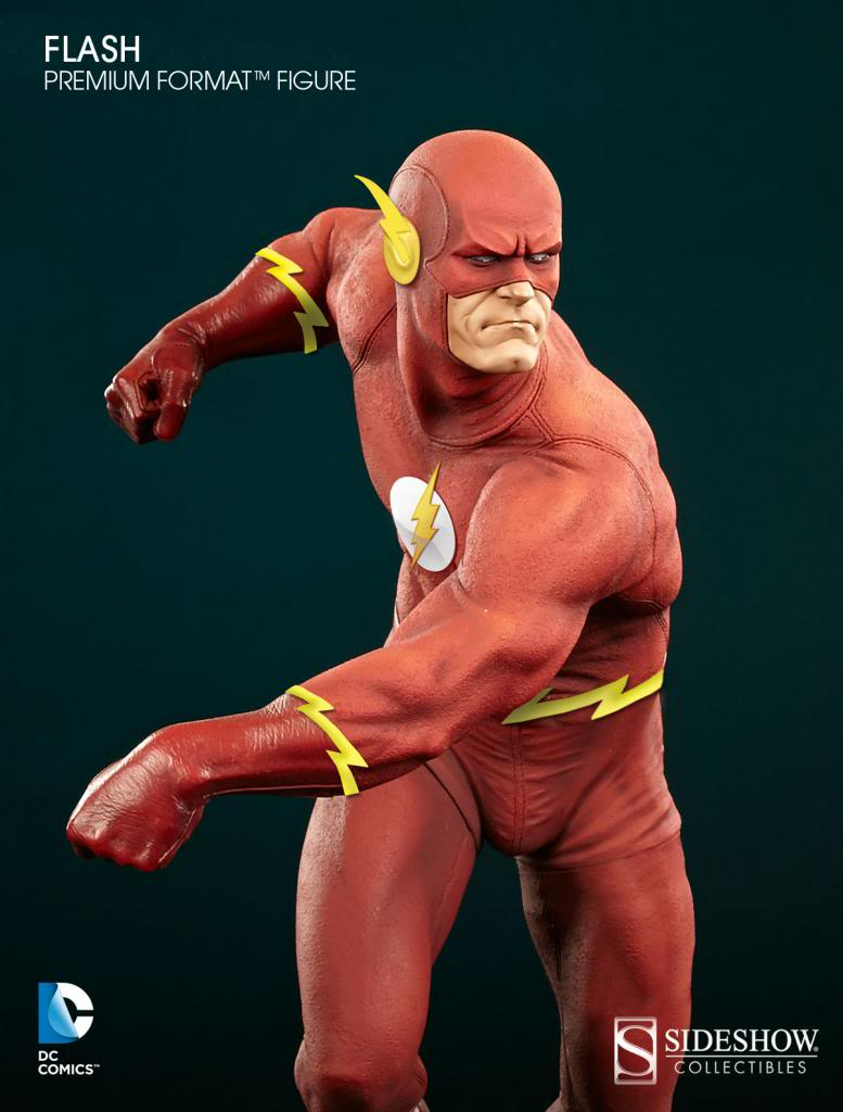 [Sideshow] DC Comics: Flash Sixth Scale Figure Flash_zpsb5af0aff