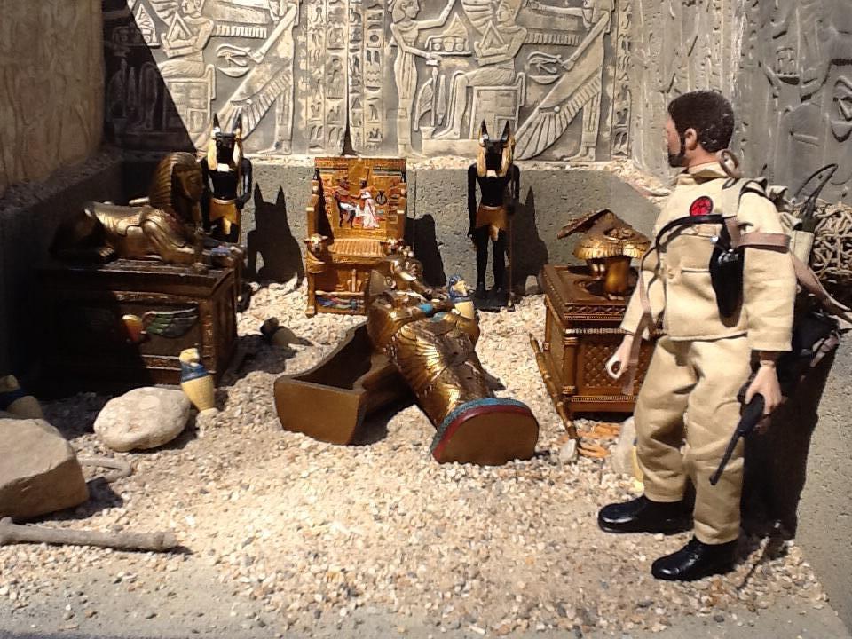 My Egyptian diorama for nest comic Imagejpg1