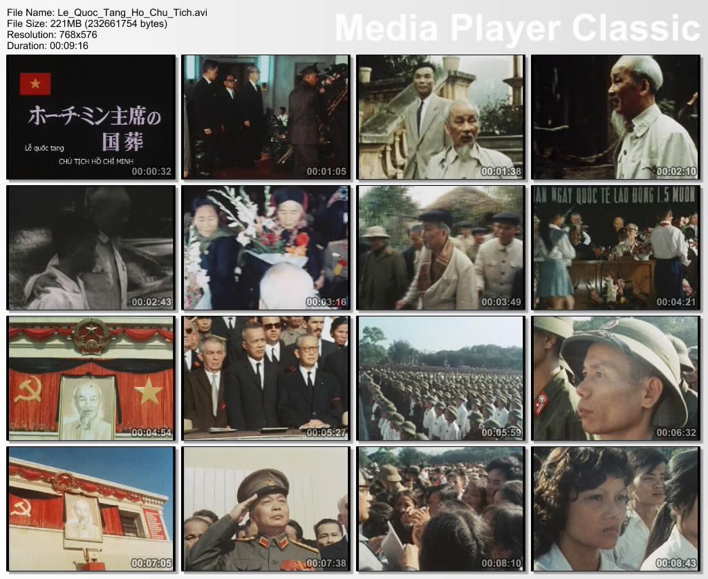 [Bản Gốc] Phim về lễ quốc tang Chủ tịch Hồ Chí Minh  01