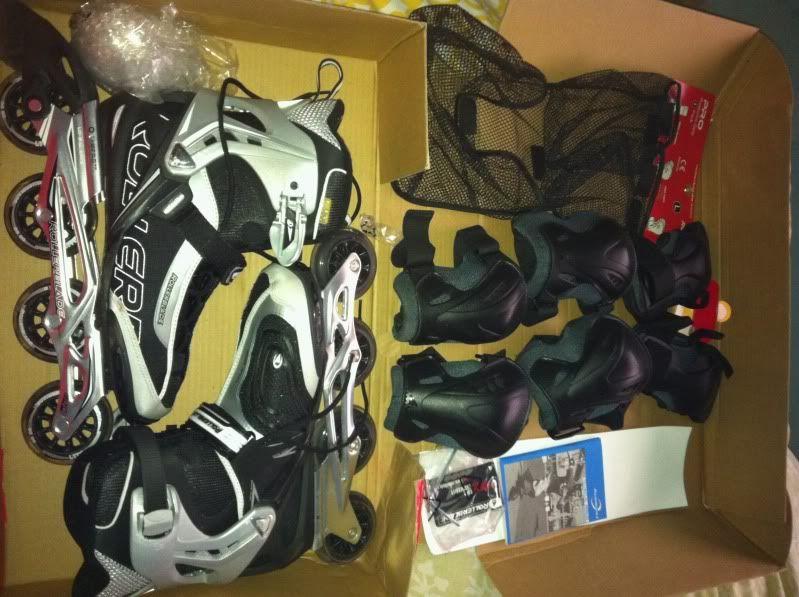 vendo patines rollarblade sg7 talla 43 un solo uso. Lafoto