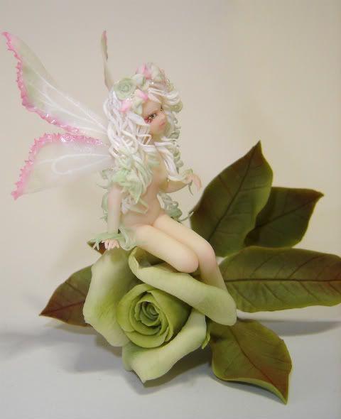 Fata sulla rosa - collaborazione con chicca DSC09204