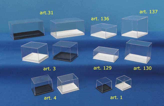 Scatoline in plastica trasparente - Ordine di gruppo Scatolebasebiancaenera2010