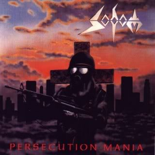 Sodom - Persecution Mania  (1987) Persecuttion