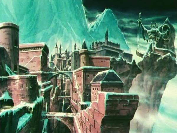 Aventura 2: A ambição de Alberich. Neve vermelha. Asgard-fortress15