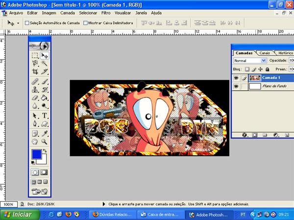 Como reitirar o fundo de uma imagem 1-2