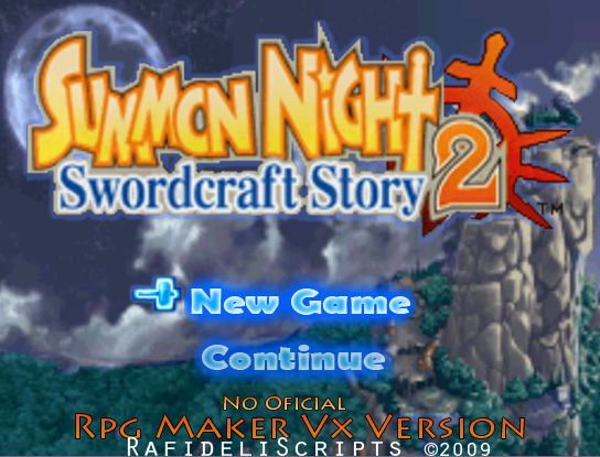 Summon Night 2 - Title & Character Select SM2T_3