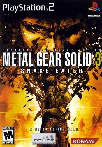 احدث العاب البلاى استيشن Metal Gear Solid 3 Snake Eater ps2 480f51d03f3a
