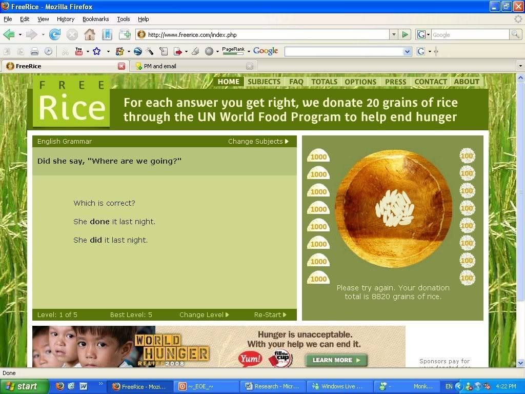 Free Rice Contest Pasted_Data_a9fd