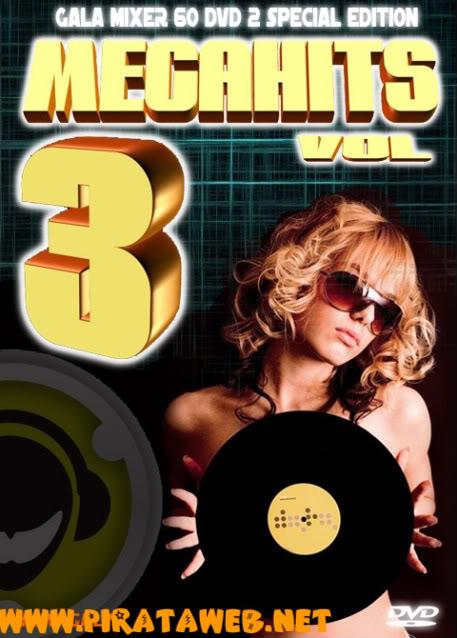 Gala Mixer 60 - MegaHits Vol. 3 DVD2 - DVD-R (2010) COVERGALAMIXER60DVD2