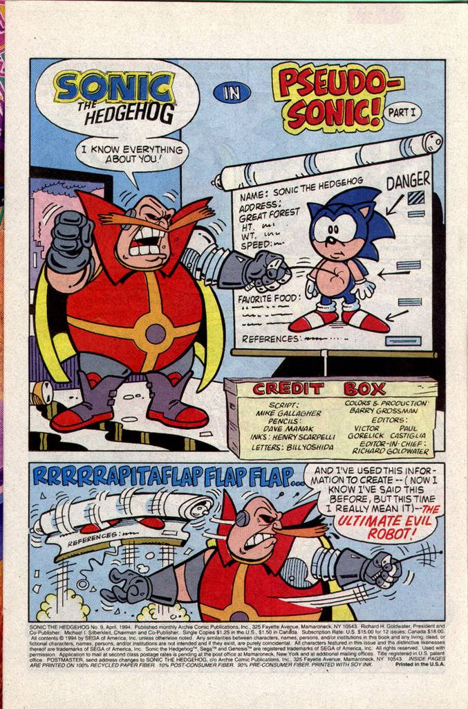 Sonic The Hedgehog Archie - Issue #9 02_zps67phucda