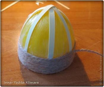 Пасхальные яйца из ткани, лент, джута.... Bcd71b349fe59bff10c9a73605f88e77