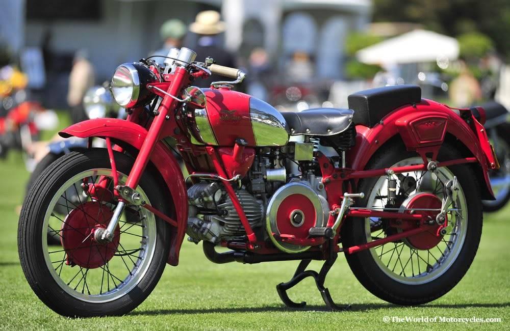 Concept/design/photomontage sur R  - Page 2 Moto-guzzi_airone_sport_250_1952