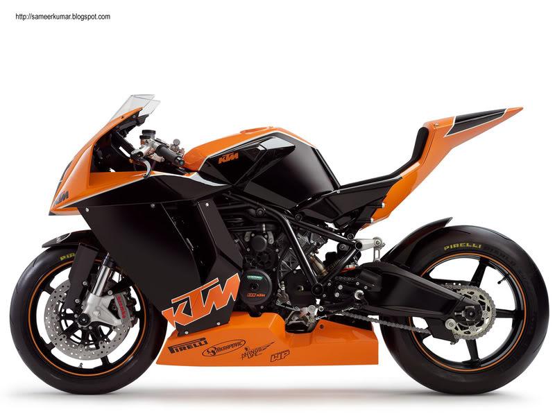KTM 1000 RC8 RC8R  Rc8racebike