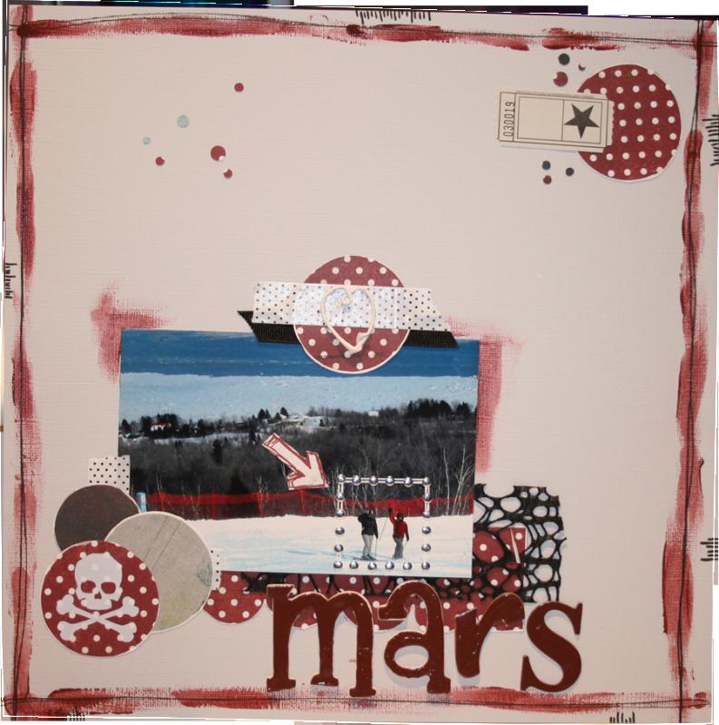 En mars (2011), je m'inspire de... Mars