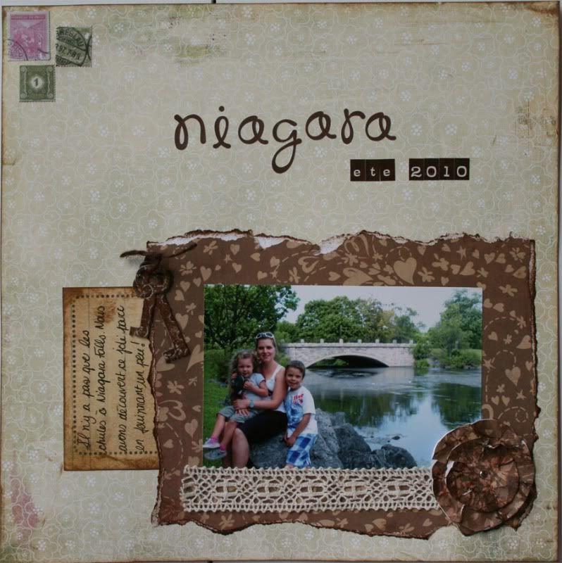 Defi Inspiration de Septembre Niagara