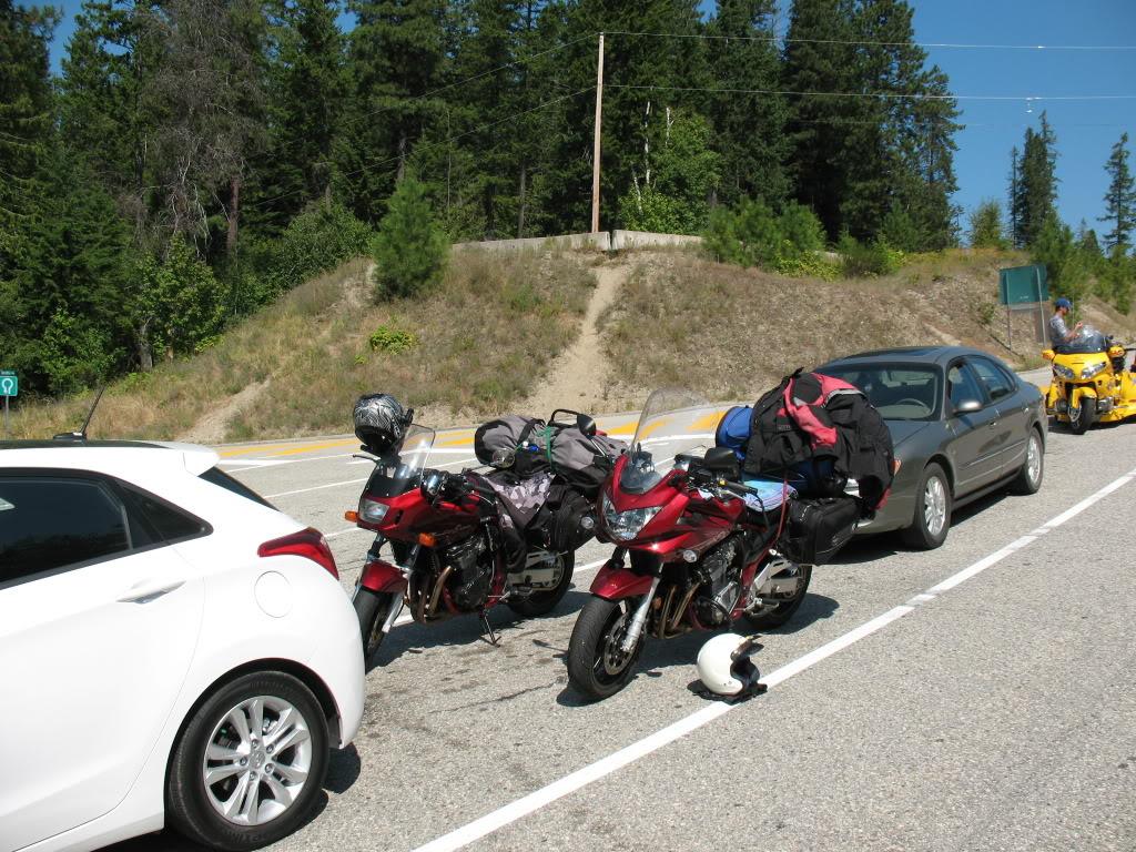 Bandits on the roads in British Columbia IMG_0985