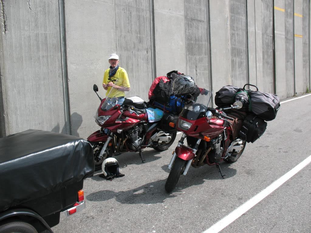 Bandits on the roads in British Columbia IMG_1032