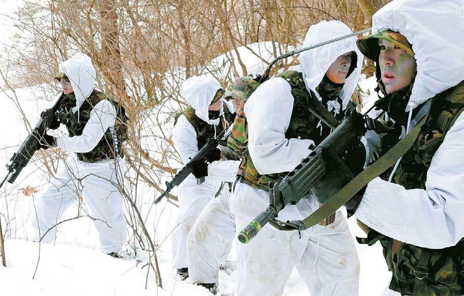 Corée du sud Marines