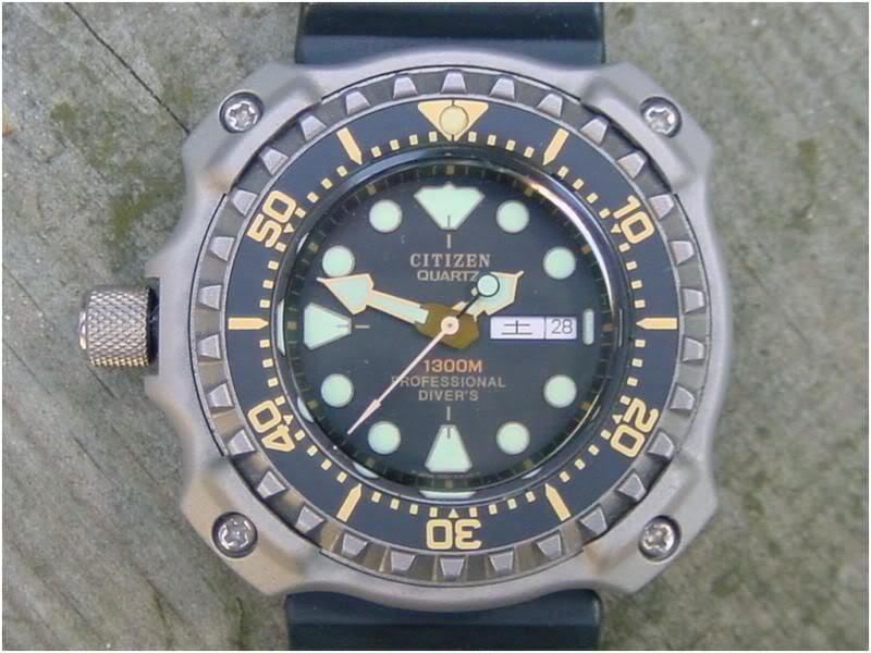 The History of Citizen Dive Watches 1300m