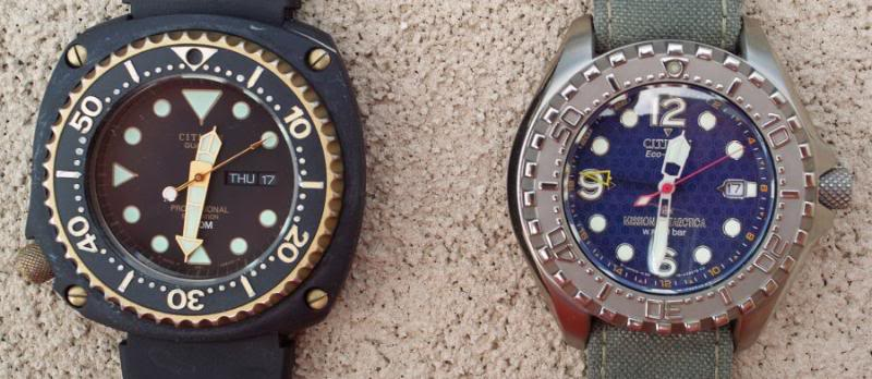 The History of Citizen Dive Watches 800d