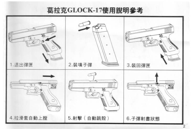 WaShan Glock 17 series