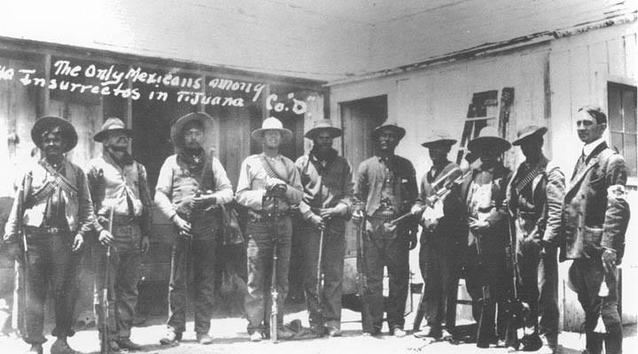 Invasión filibustera a Baja California. Guerrillerosmagonistasdeorigenme-2