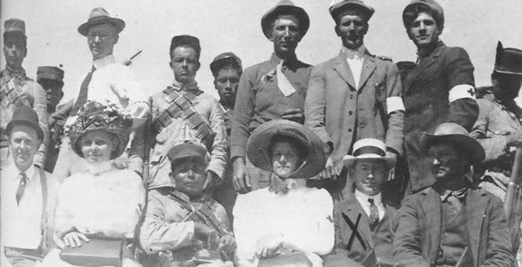 Invasión filibustera a Baja California. LacruzrojadeSDenTijuana1911