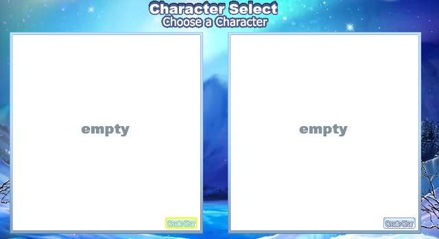 Tạo nhân vật CharacterCreation
