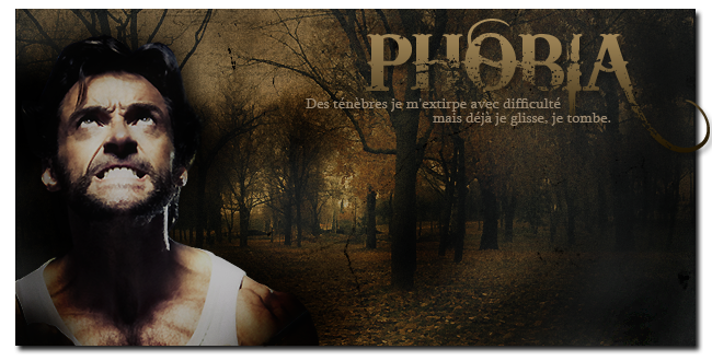 Phobia - Fly over me evil angel.