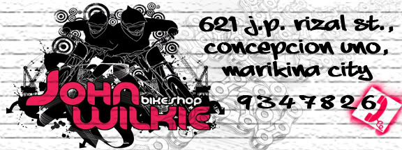 John Wilkie Bike Shop is now online!!! Homebanner