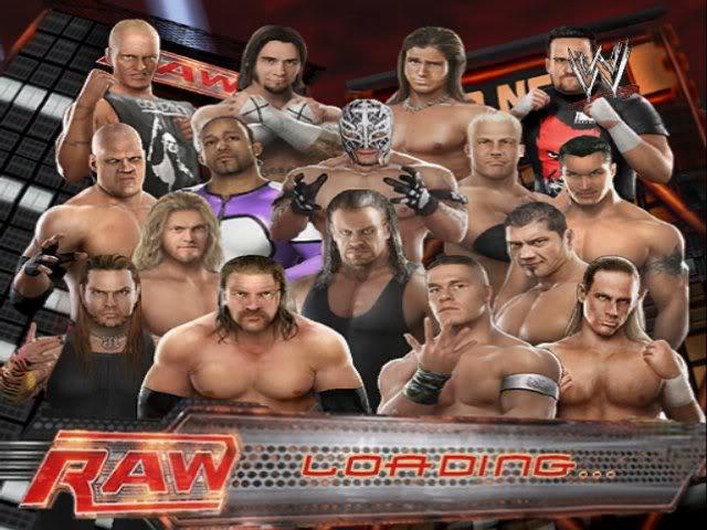 لعبة مصارعه | تحميل لعبة المصارعة 2009 | WWE RAW Legends  مُساهمة RAW
