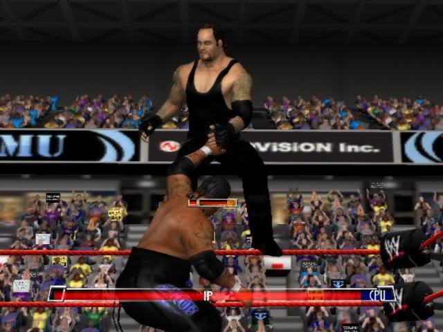 ومازلنا نحن الأفضل مع لعبة wwe raw total edition (2008) بحجم 415.