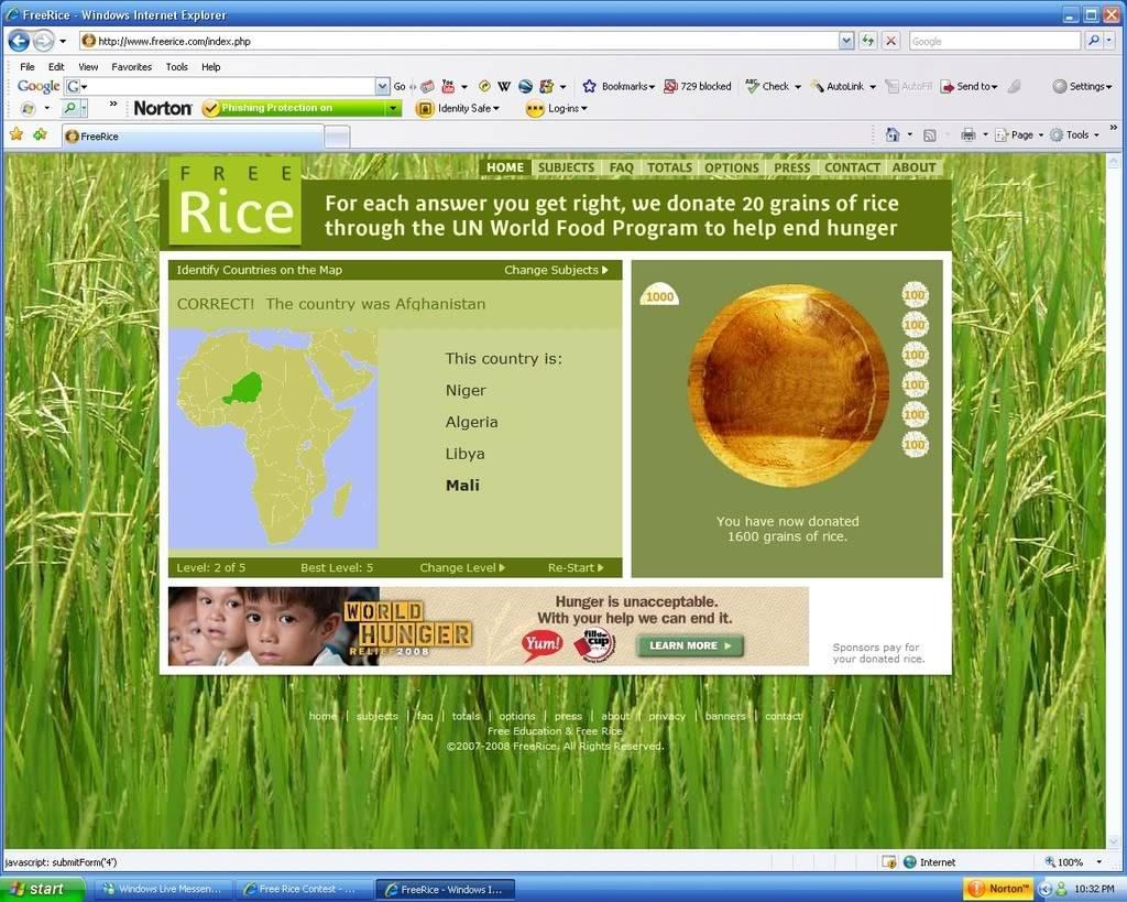 Free Rice Contest Freerice