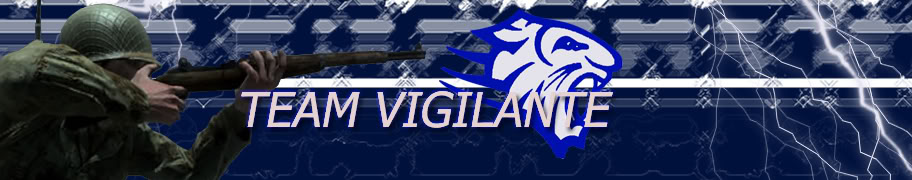 Logo and Banner For my Clan TeamVigilanteBanner