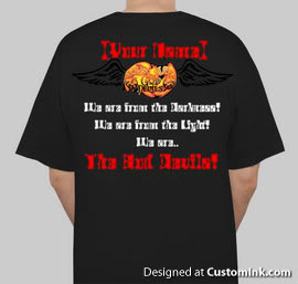 T-Shirt designs. Wm-back