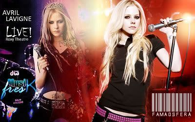 Avril Lavigne Fm103g