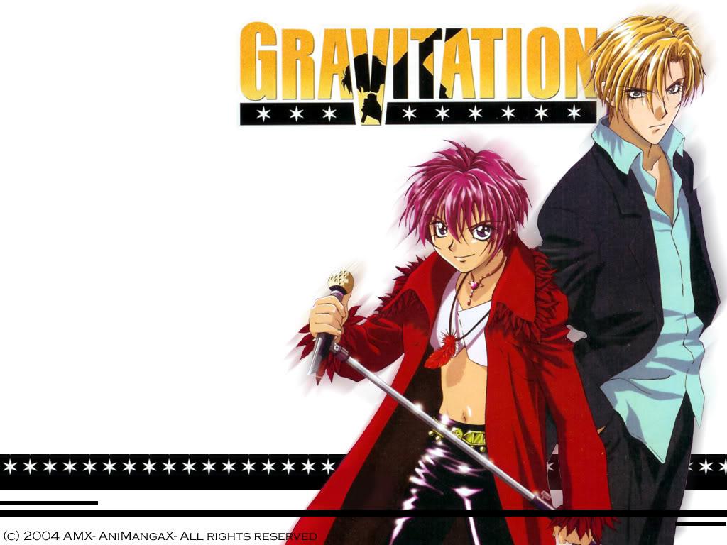 Top 3 De Anime Gravitation