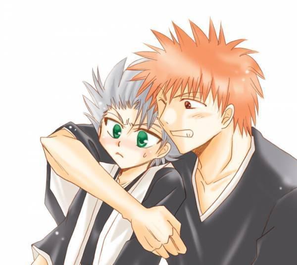 Ichigo & Hitsugaya IchiHitsu01