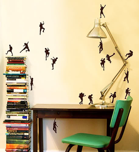 Idee per la casa 17-kinds-climb-wall-stickers
