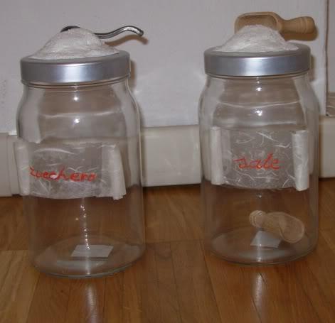 Barattoli sale e zucchero Barattoliterrydef